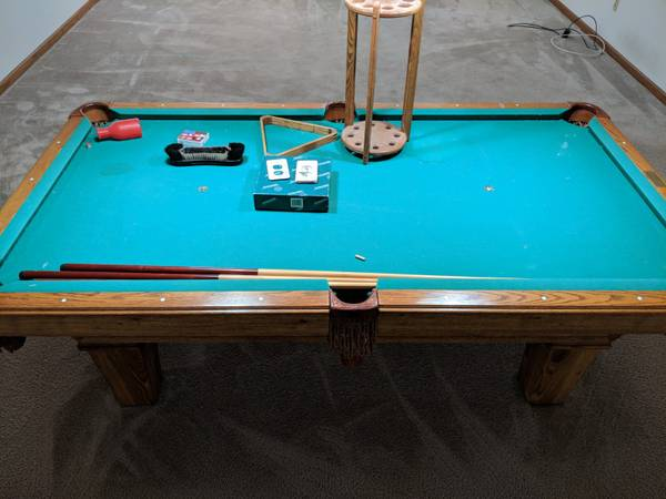 SOLO® - Grand Rapids - Olhausen 8' Pool Table-41