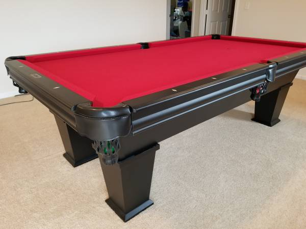 SOLO® - Grand Rapids - Plank and Hide Parsons Pool Table-73