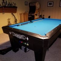 7 foot Diamond Pro Pool Table