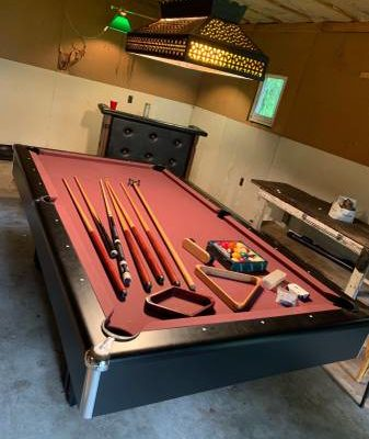 Pool Table Full Size Slate
