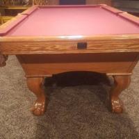 Billiard Pool Ping Pong Table