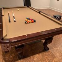 Brunswick 8ft Glenwood Espresso Pool Table