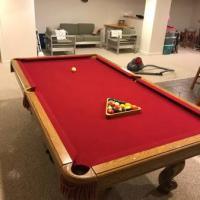 Brunswick Manchester Oak Pool Table