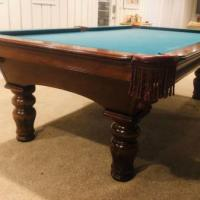 Olhausen 8' Eclipse Pro II and Billiards Chairs Plus More