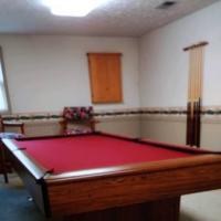 9ft Slate Pool Table