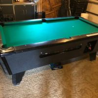 Valley Black Cat Pool Table
