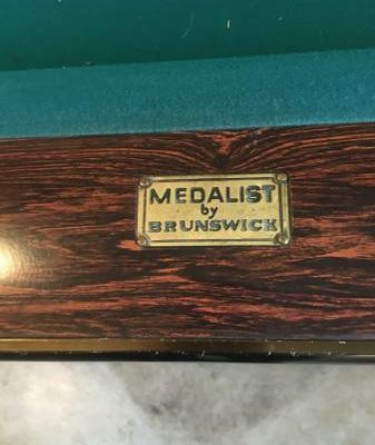 Full Size Brunswick Metalist Piol Table