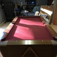 Antique Valley Pool Table Billiards