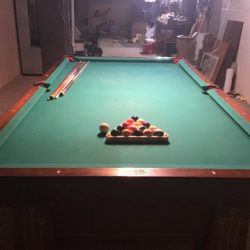 9' Vintage Pool Table (manufactured in 1940's by Wendt)